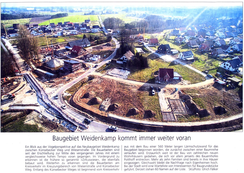 20150323 - WB - Baugebiet Weidenkamp kommt immer weiter voran - 1500x