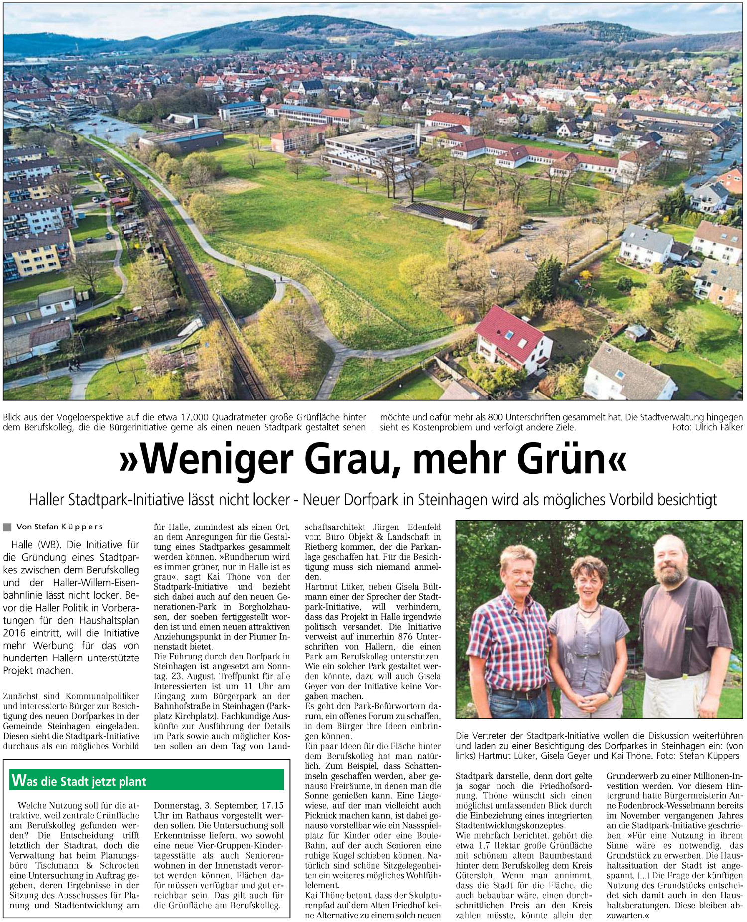 20150818 - WB - Weniger Grau mehr Grün